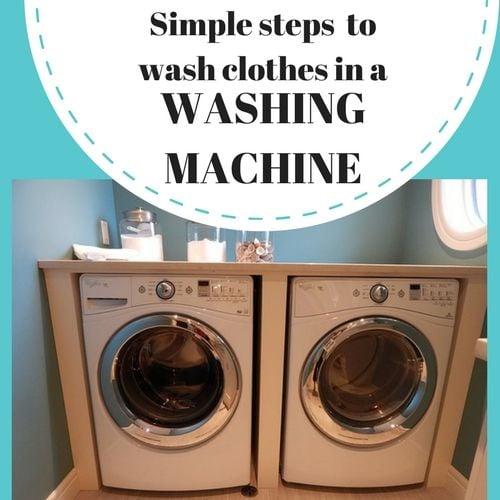wash laundry