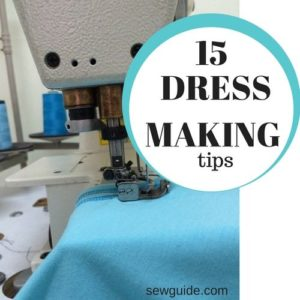 dressmaking tips