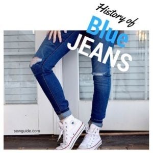 history of blue jeans