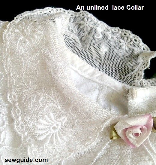 lace sewing