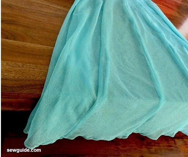 sewing lehenga skirt