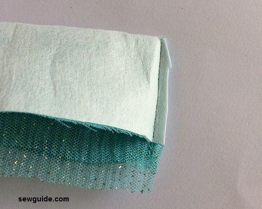 stitch lehenga