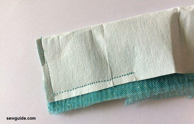 stitching lehenga