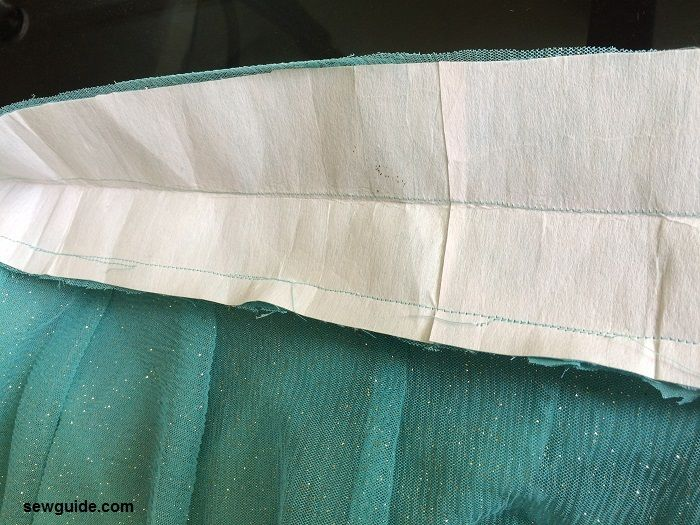 sewing lehenga skirt