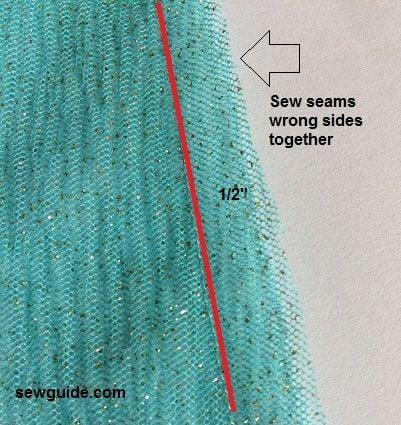 sewing a lehanga skirt
