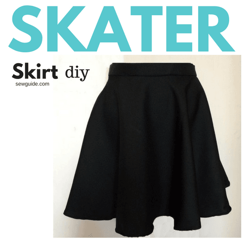 Make a Skater Skirt { DIY Pattern & tutorial}