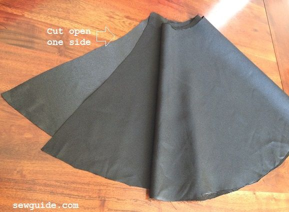 Make a Skater Skirt { DIY Pattern & tutorial}