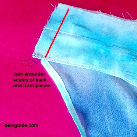 how to sew a tank top fast