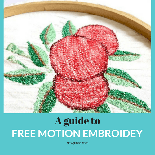 how to do embroidery with a regular sewing machine