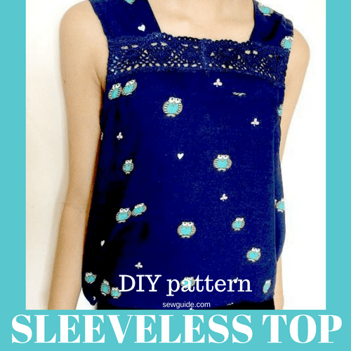 sleeveless top pattern