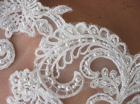 Types of lace fabric trims for making clothes sew guide