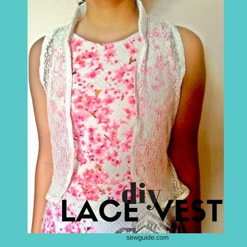 diy lace vest