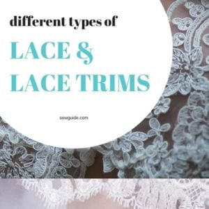 different types of laces