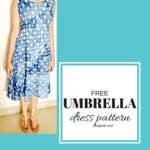 umbrella dress pattern