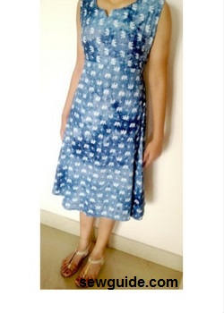 Make an Umbrella Dress - Free sewing pattern & Tutorial