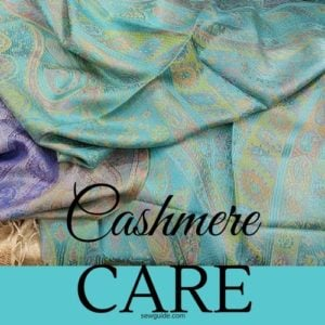 cashmere wash care tips