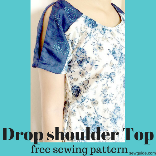 top with shoulder slits