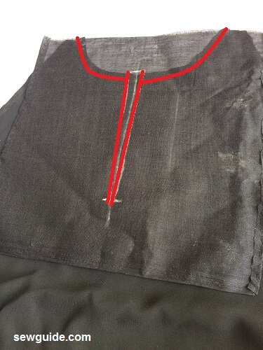 cold shouldered top pattern