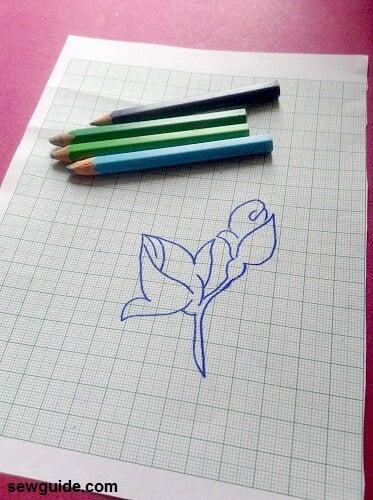 how to make cross stitch pattern