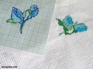 how to make cross stitch patterns
