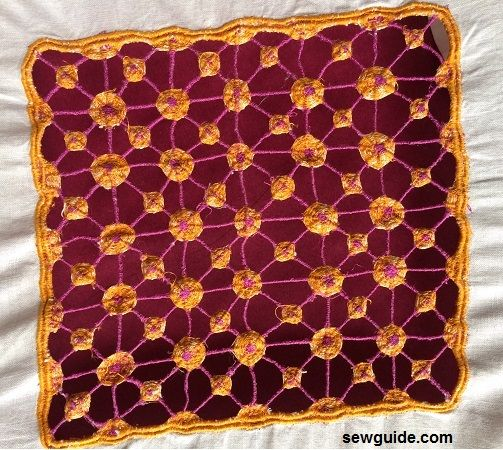 how to sew cutwork embroidery