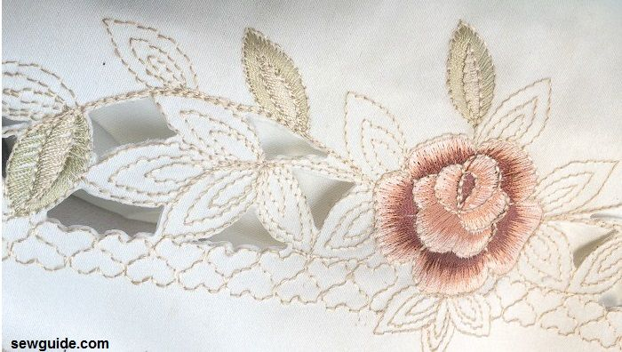 Ways to do cutwork embroidery sew guide