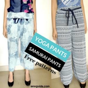 wrap pants pattern