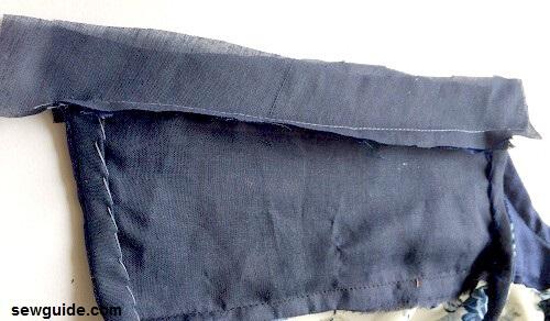 drop shoulder dress pattern
