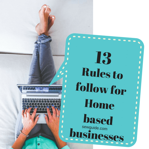 rules for home based businesses