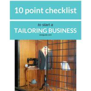 how to start a tailoring shop