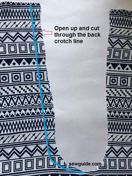 fisherman pants pattern