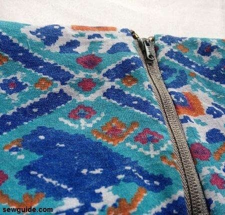 yoke skirt pattern with zipper