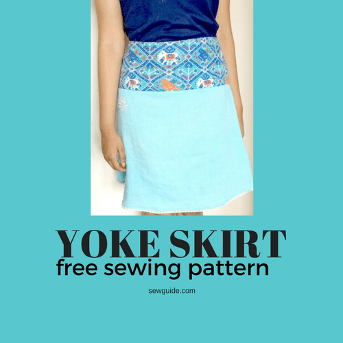 yoke skirt pattern