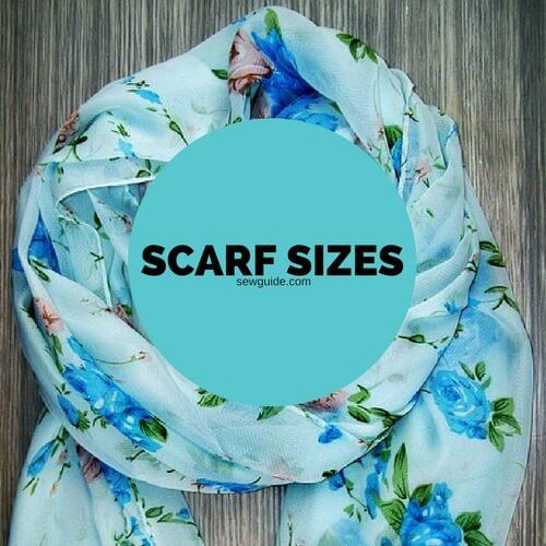 scarf sizes