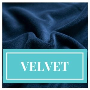 Luxurious Quality Soft Velour Velvet Stretch Dress Fabric Material 18 Colours