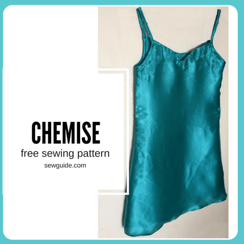 chemise sewing pattern