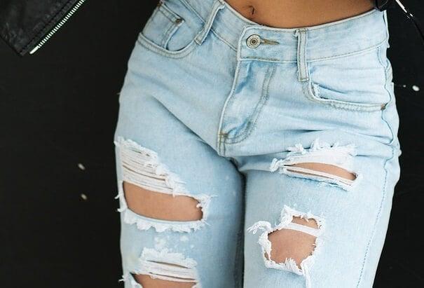 jeans embellish diy