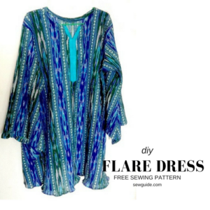 flare dress free pattern