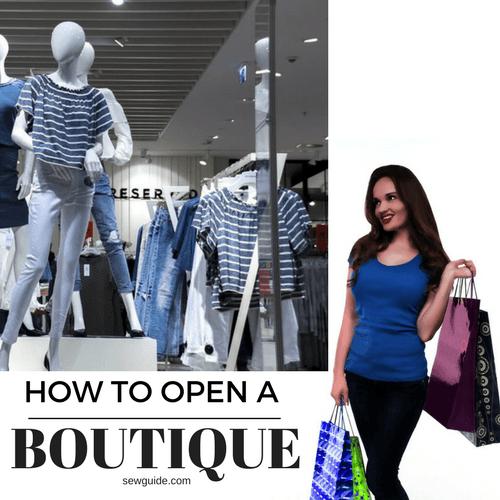 open a boutique business