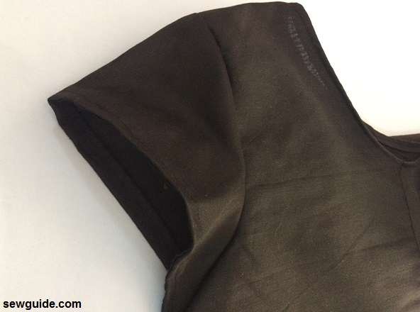 panel dress pattern