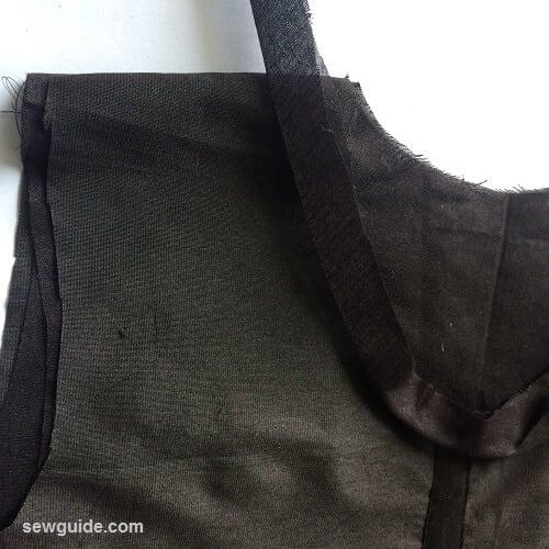 panel dress sewing pattern
