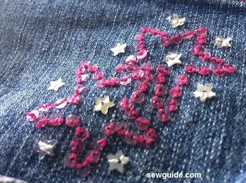 how to embellish jeans