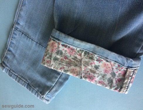 refashion old jeans diy