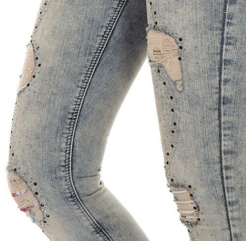 embellish jeans