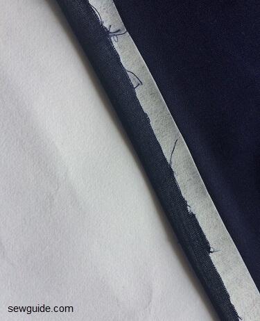 front tie shirt stitching patterns