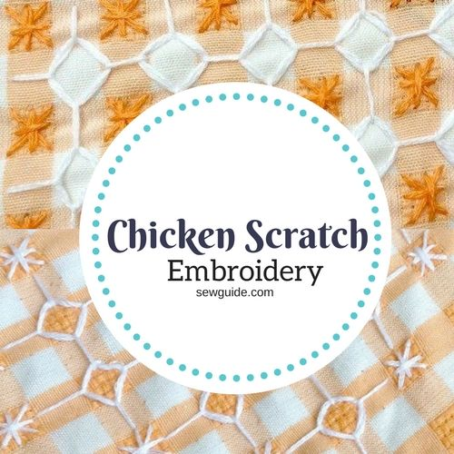 chicken scratch embroidery