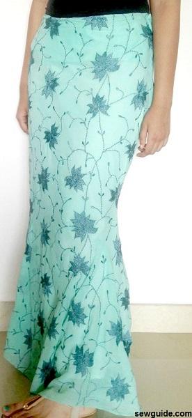 mermaid skirt free pattern