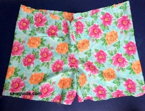 pattern for shorts