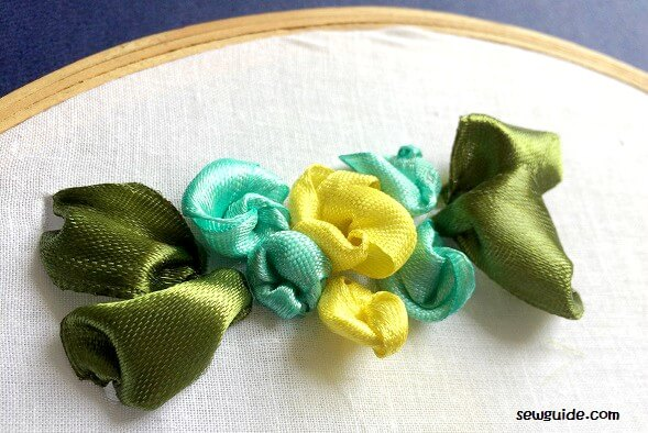 ribbon flowers diy