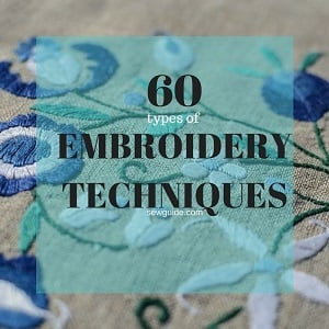 different types of embroidery